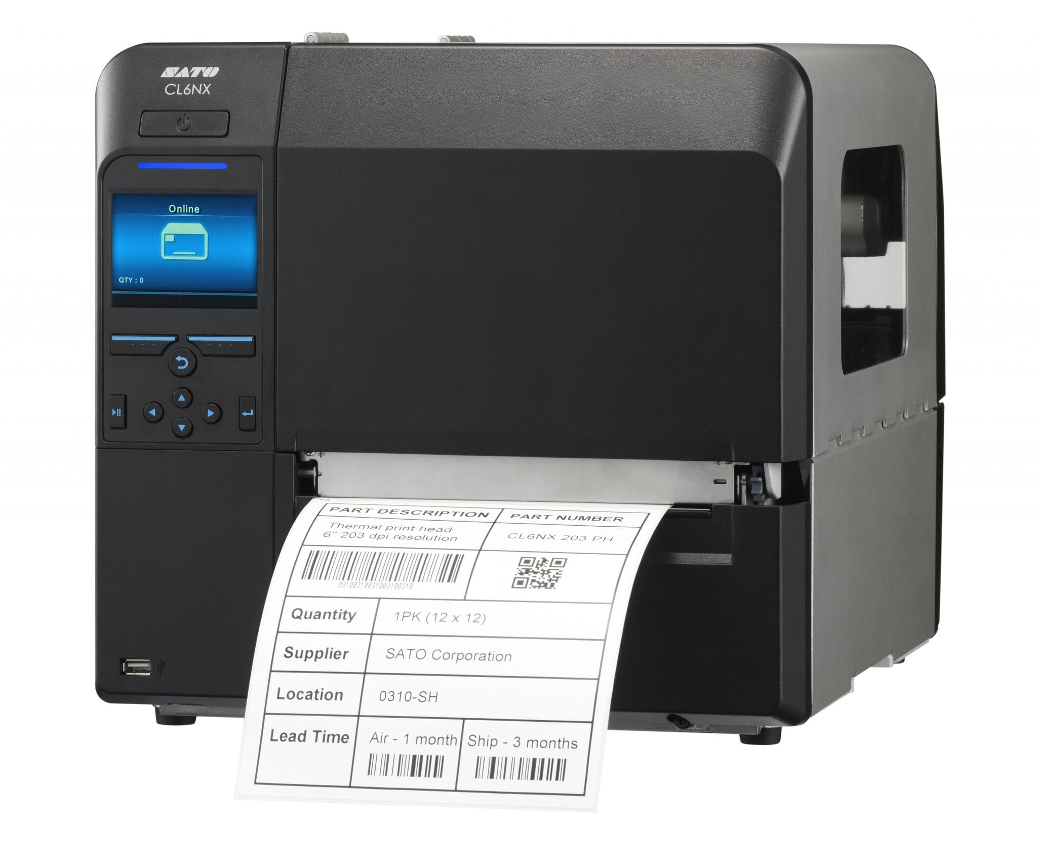 Sato Cl608nx Thermal Printer Support